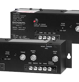 bogen paging amplifier 35 watt tpu35b nec dsx distributors com rh necdsxdistributors com Bogen Intercom Systems Bogen TAMB2